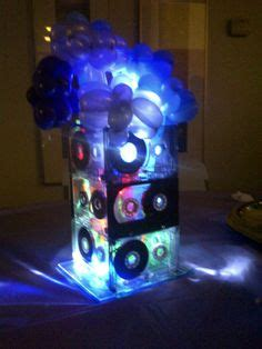 cassette centerpiece 1000 images about balloons on balloon decorations balloons and balloon cupcakes