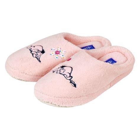 eeyore slippers disney eeyore winnie pooh pink terry slippers size 5 6