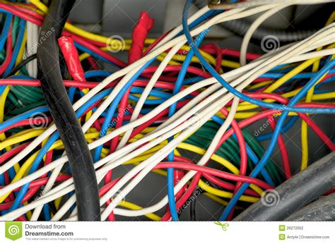 electric wiring stock photography image 26272002
