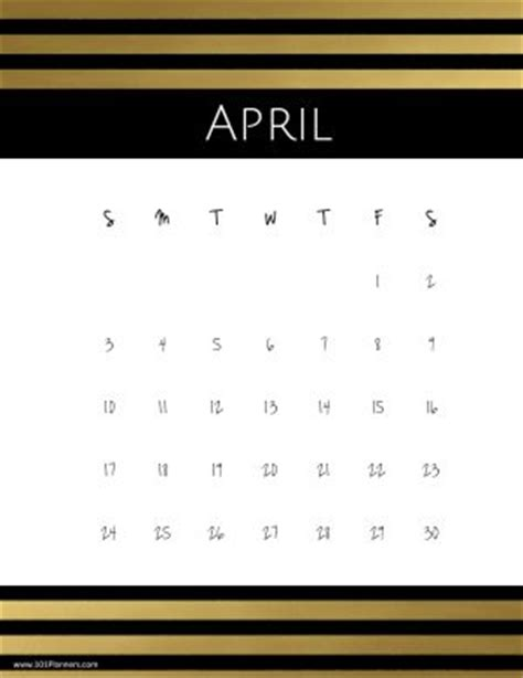 april  calendars   designs  borders