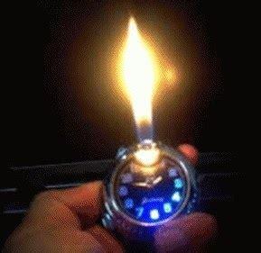 Korek Api Gas Jam Tangan Sofenir Hadiah Korek Api Mancis Murah jam tangan korek api jual murah kaskus