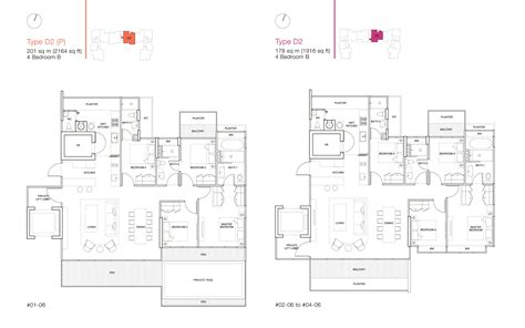 ola residences floor plan 4 bedroom ola residences