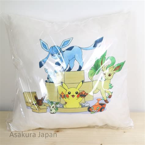 Eevee Pillow by Center 2016 Mini Cushion 3 Pikachu Glaceon