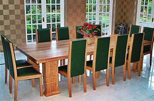 12 Seater Dining Table And Chairs Bespoke Tables Oak Tables Oak Bespoke Furniture