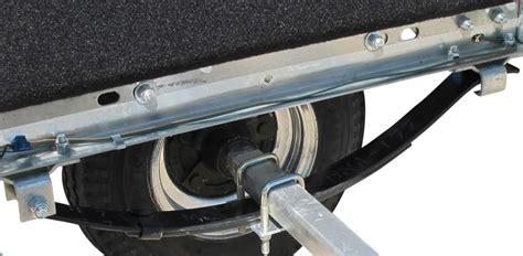 trailer slipper springs ce smith rear hanger bracket for trailer slipper springs