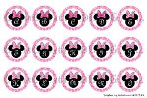 mouse ears abcs digital image sheet for bottlecap crafts