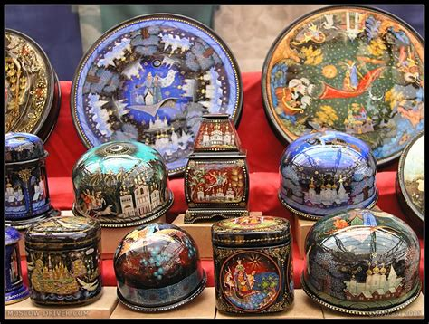 Souvenir Piring Pajangan Moscow Rusia russian souvenirs lacquer boxes a photo from moscow
