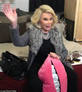 Getting A New Wardrobe by Hathaway Getting Out Of A Limousine Joan Rivers Shares Crude Photo On Page