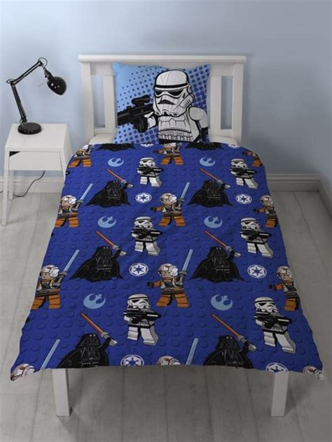 lego star wars 100 cotton duvet cover set new bedding ebay