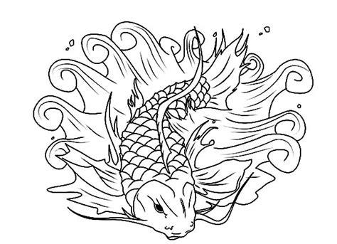 beautiful fish coloring pages koi fish coloring pages beautiful fish coloring pages
