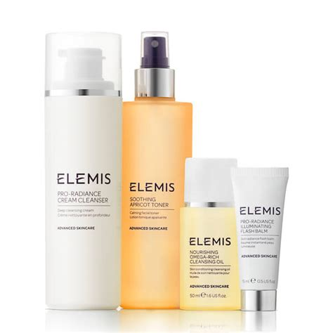 Does The Elemis Detox Products Work by Elemis Kit Beautifully Radiant Cleansing Collection Worth