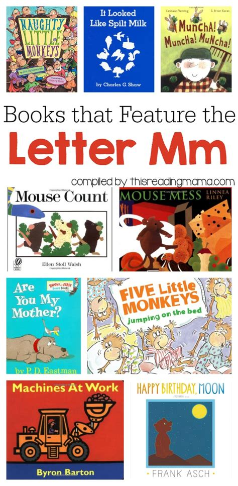letters to a books letter m book list books that feature the letter m