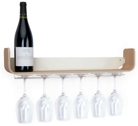 universal ashwood wine glass shelf universal expert