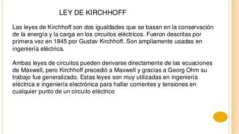 ley 408 de conclusion introduccion a la electricidad