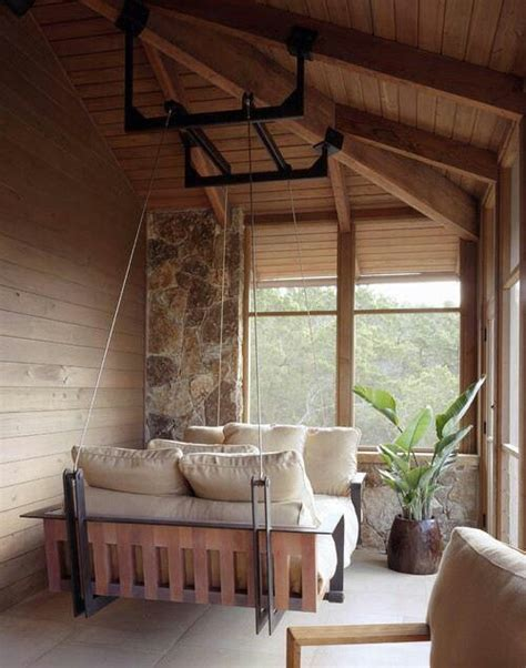 hanging bed swing 39 relaxing outdoor hanging beds for your home digsdigs