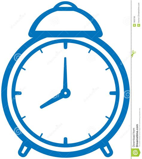 Alarm Vector alarm clock vector illustration stock vector image 7803796