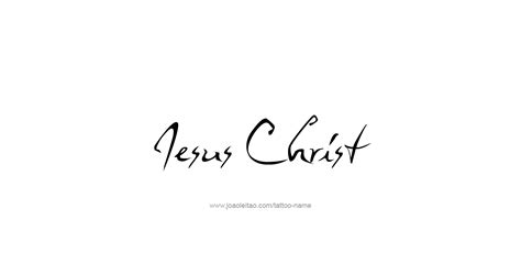 jesus christ prophet name tattoo designs tattoos with names