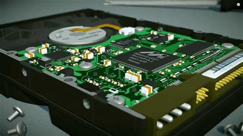 Hardisk 3d disk drive 3d visualization