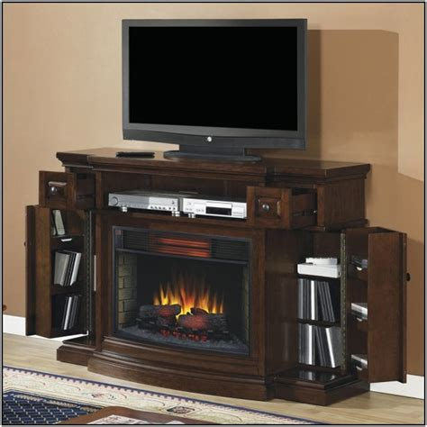 electric fireplace tv stand lowes ideas ergonomic home