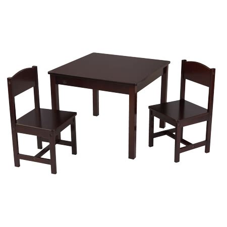 kidkraft and table and chair set kidkraft aspen table 2 chair set colors