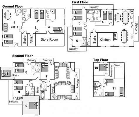 floor plan insurance neve tignes france mountain beds