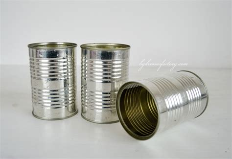 tin cans diy shabby recycled tin cans dreams factory