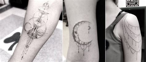 linear tattoos wonderful geometric and linear tattoos by dr woo icreatived