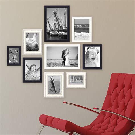 Wanddekoration Ideen Wohnzimmer 657 by 9er Set Bilderrahmen F 252 R Grosse Bilderwand Modern Shabby