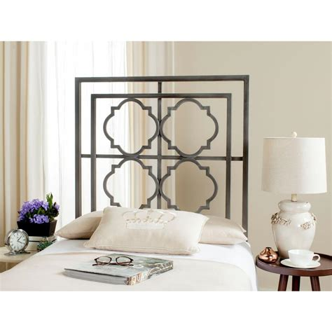 iron headboards twin safavieh silva antique iron twin headboard fox6216c t