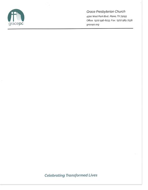 stationery templates the hubbard press letterhead stationery