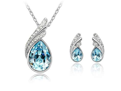 Aquamarine Jewelry by The Glamorous Of Aquamarine Necklace Jewelry Design