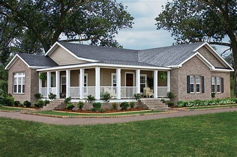 wrap around porch ideas modern farm house