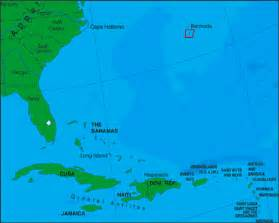 map of eastern us and bermuda chapter 6 the caribbean