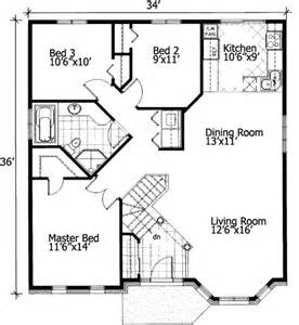 Small House Floor Plans Free Barrier Free Small House Plan 90209pd 1st Floor Master