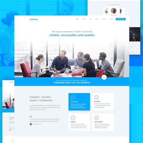 Professional Company Website Template Free Psd Download Download Psd Professional Personal Website Templates Free