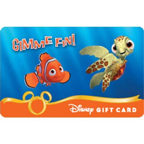 Disney Store Gift Cards - your wdw store disney collectible gift card finding nemo gimme fin
