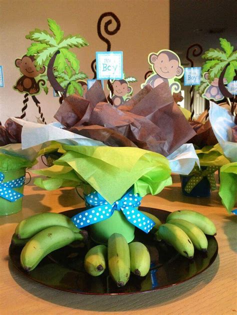 Monkey Boy Baby Shower Decorations by Monkey Baby Shower Decorations For Boys Baby Shower Ideas