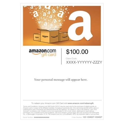 Who Carries Amazon Gift Cards - amazon gift card print amazon boxes cut out giftcardsunlimited com