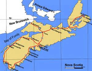 maps scotia canada scotia canada city map