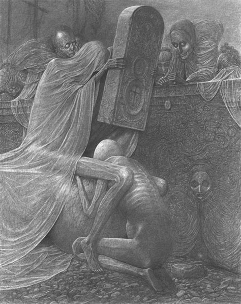 Dissolving Skin and Decaying Bone… Zdzisław Beksiński