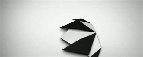 origami animal gif wifflegif