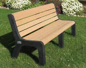Wood Bench Kit Buy Plastic Recycled Malibu Benches Markstaar Plastic
