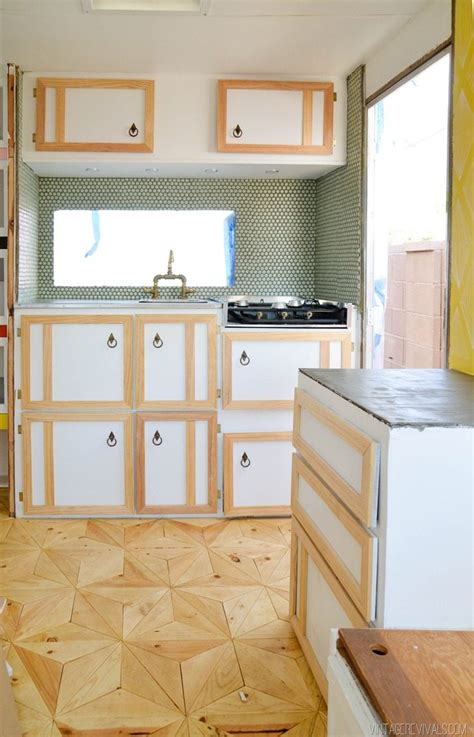 how to build rv cabinets the nugget building cabinets again vintage revivals