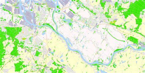 printable map hamburg printable map hamburg germany g view level 17 ai 10 ai pdf