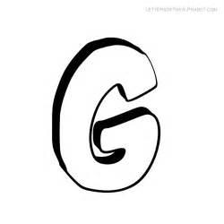 Alphabet letters g bubble letters of the alphabet