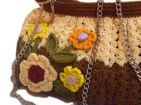 Tas Rajut Dengan Behel tas rajut coklat poly cantik crafts