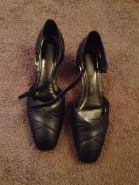naturalizer shoes size 9 ebay naturalizer size 9 5 m black granny mary jane strap dress