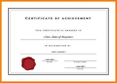 8 sales achievement certificate free template sle of