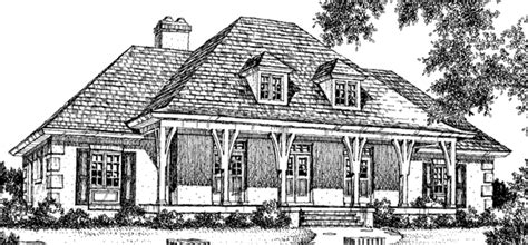 Louisiana Country House Philip Franks Southern Living Louisiana House Plans Southern Living