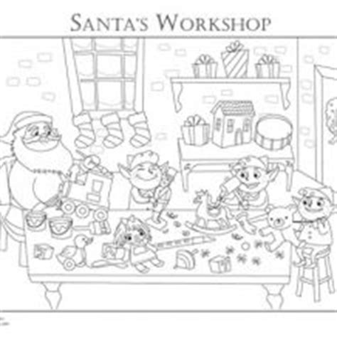 coloring pages of santa s workshop christmas mandala adult coloring page printable holiday